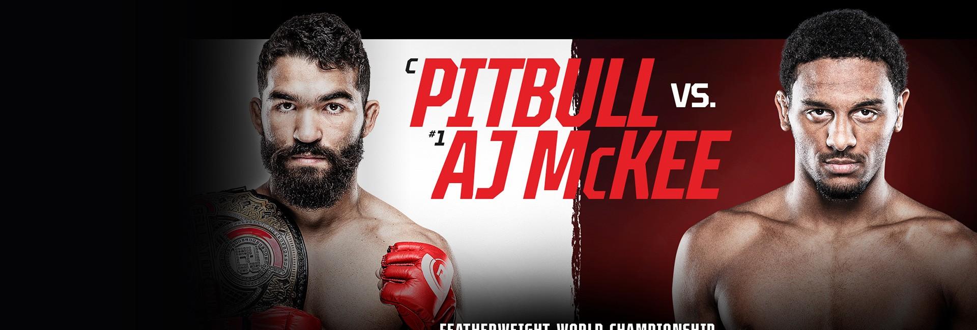 Bellator 263: Pitbull vs. McKee 1. 8. - 01:00