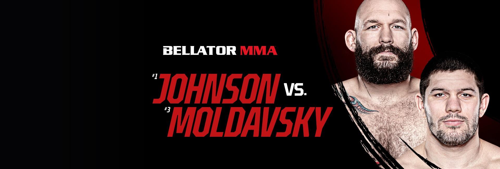 Bellator 261: Johnson vs. Moldavsky 25. 6. - 23:55
